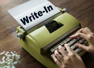 Write In