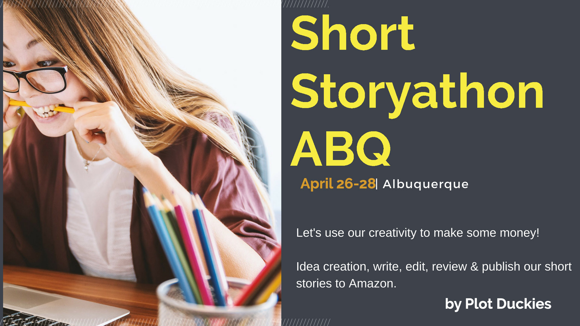 Short Story-A-Thon ABQ April