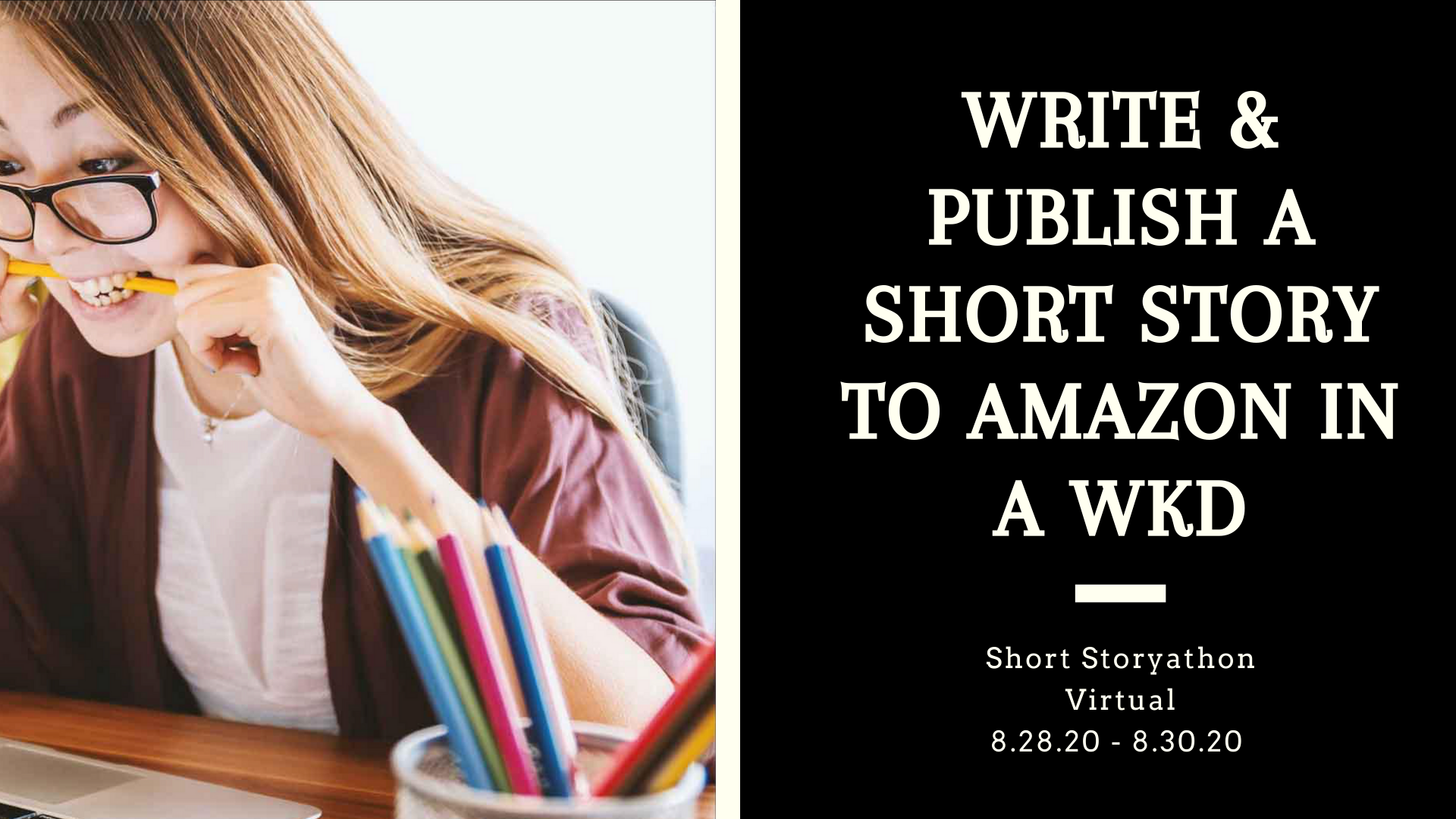 Write and Publish a short story in a weekend